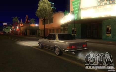 Mercedes Benz 280 CE W123 1986 for GTA San Andreas back left view