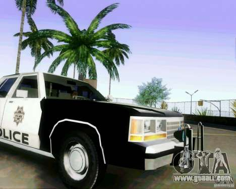 Ford Crown Victoria LTD 1991 LVMPD for GTA San Andreas right view