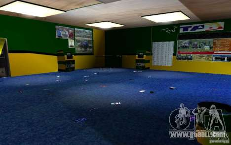 New Bukmejkerskaâ Office for GTA San Andreas sixth screenshot