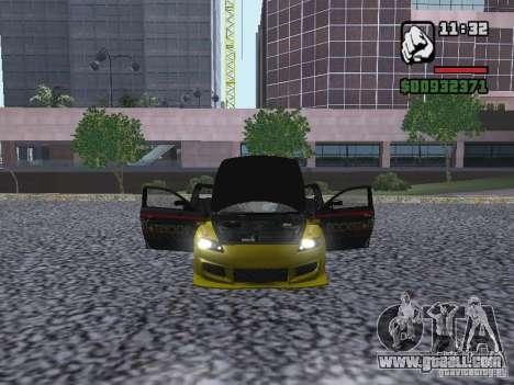 Mazda RX-8 Rockstar for GTA San Andreas right view
