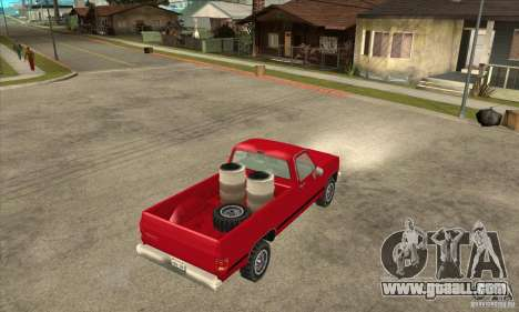 GMC Sierra 2500 for GTA San Andreas right view
