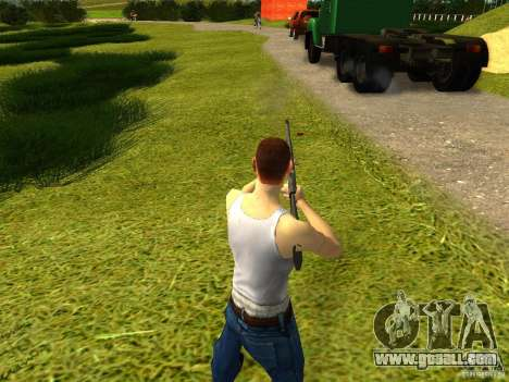Benelli M4 Super 90 for GTA San Andreas second screenshot
