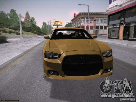 Dodge Charger SRT8 2012 for GTA San Andreas left view