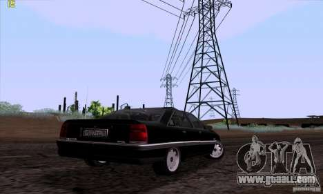 Opel Omega A Diamant Stock for GTA San Andreas side view
