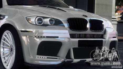 BMW X6 Hamann for GTA 4 left view