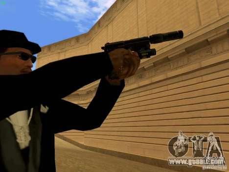 USP45 Tactical for GTA San Andreas sixth screenshot