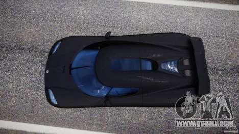 Koenigsegg CCXR Edition for GTA 4 right view
