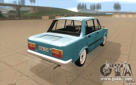 Fiat 125p for GTA San Andreas side view