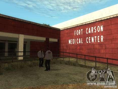 Renewal of the hospital at Fort Carson for GTA San Andreas third screenshot