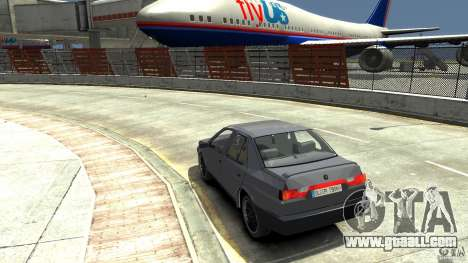 Alfa Romeo 155 for GTA 4 back left view