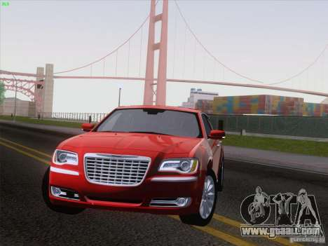 Chrysler 300 Limited 2013 for GTA San Andreas back left view