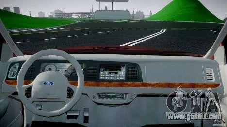 Ford Crown Victoria 2003 v.2 Civil for GTA 4 right view