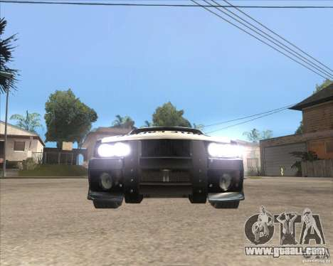 Police NFS UC for GTA San Andreas left view