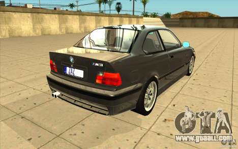 BMW E36 M3 - Stock for GTA San Andreas side view
