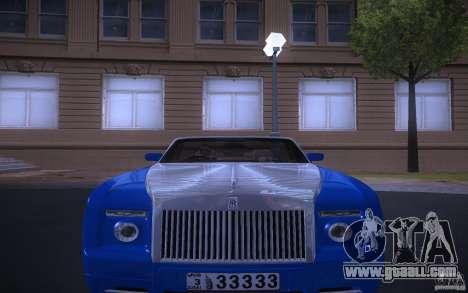Rolls-Royce Phantom Drophead Coupe for GTA San Andreas