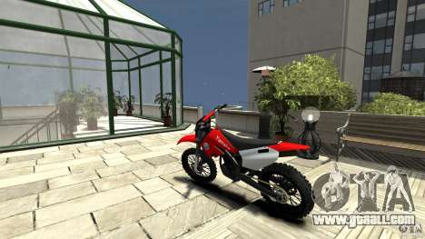 Yamaha Cross for GTA 4 back left view