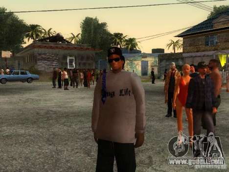 Crips for GTA San Andreas forth screenshot