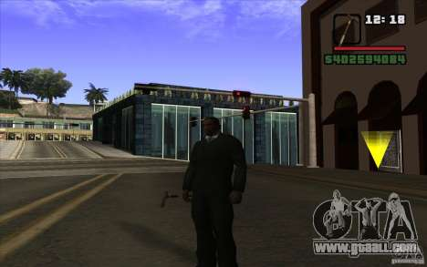 New cane for GTA San Andreas second screenshot