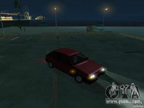 VAZ 2108 Drain for GTA San Andreas back view