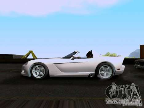 Dodge Viper SRT-10 Custom for GTA San Andreas left view