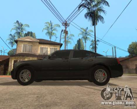 Dodge Charger for GTA San Andreas left view