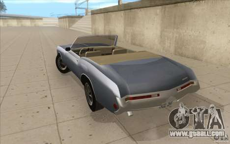 Buick Riviera GS 1969 for GTA San Andreas back left view