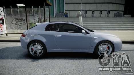 Alfa Romeo Brera Italia Independent 2009 for GTA 4 inner view