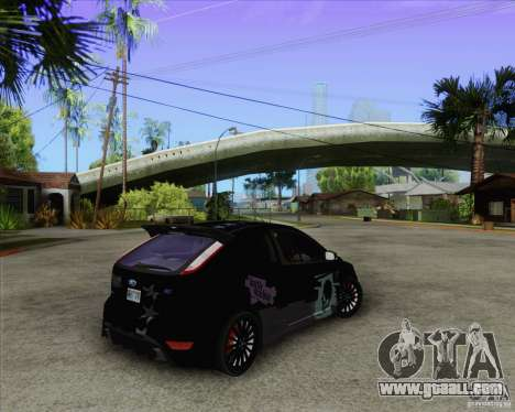 Ford Focus RS for GTA San Andreas back view