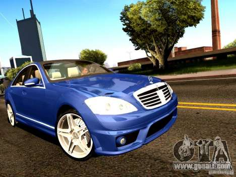 Mercedes-Benz S65 AMG 2007 for GTA San Andreas left view