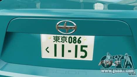 Scion FR-S for GTA 4