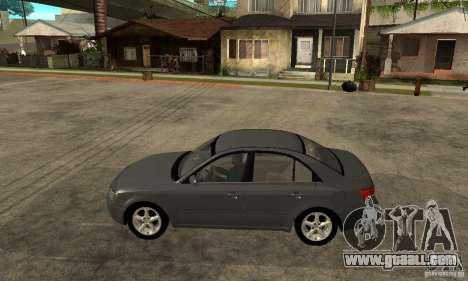 Hyundai Sonata 2008 hd for GTA San Andreas