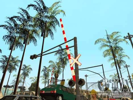 RAILWAY Crossing RUS for GTA San Andreas forth screenshot