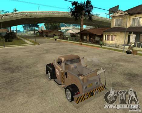 1951 Ford Wrecker for GTA San Andreas left view