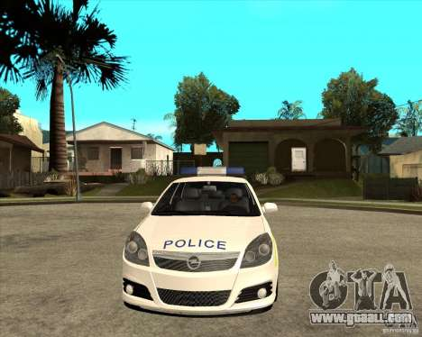 2005 Opel Vectra Police for GTA San Andreas back view