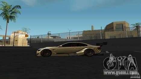 BMW E92 M3 for GTA San Andreas left view