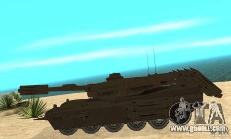 Rhino Tank Megatron for GTA San Andreas left view