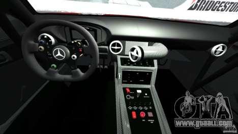 Mercedes-Benz SLS AMG GT3 2011 v1.0 for GTA 4 back view