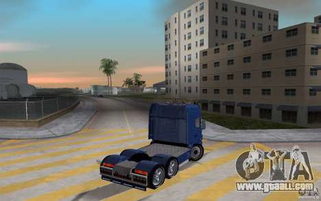SCANIA 164L 580 V8 for GTA Vice City back left view
