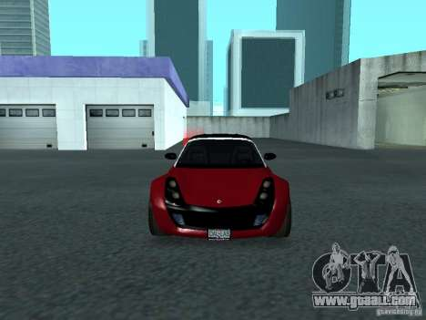 Smart Roadster Coupe for GTA San Andreas side view
