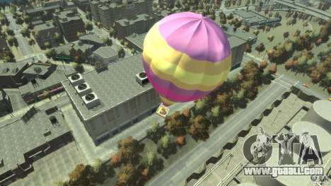 Balloon Tours option 9 for GTA 4 back left view