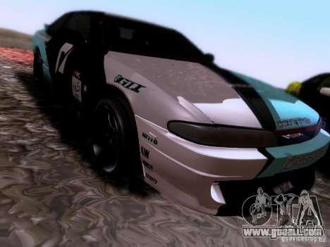 Nissan Silvia S14 Matt Powers v4 2012 for GTA San Andreas