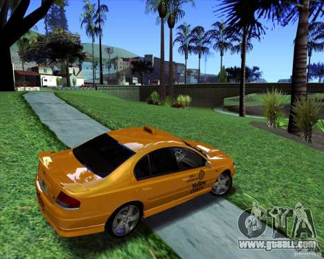 Ford Falcon XR8 Taxi for GTA San Andreas left view