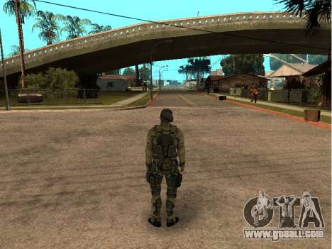 The skin army engineer for GTA San Andreas second screenshot