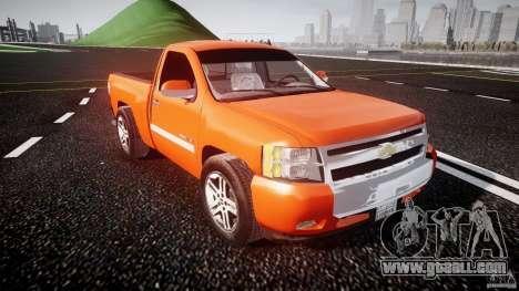 Chevrolet Silverado 2011 for GTA 4 inner view