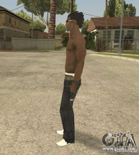 Afro-American Boy for GTA San Andreas second screenshot