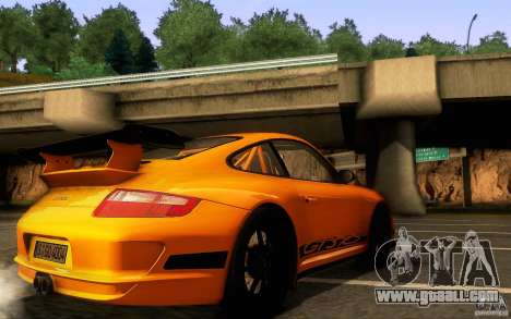 Porsche 911 GT3 RS for GTA San Andreas upper view
