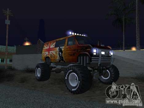 Ford Grave Digger for GTA San Andreas inner view