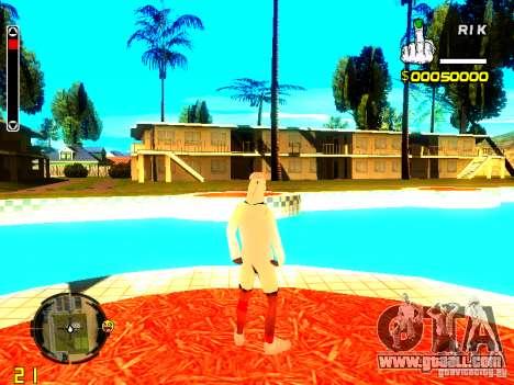 Skin bum v9 for GTA San Andreas forth screenshot