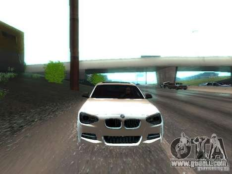 BMW M135i for GTA San Andreas side view