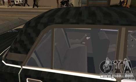 LADA 2107 Turbo for GTA San Andreas back view